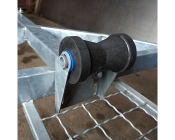 Килевой регулируемый ролик в сборе 125мм
