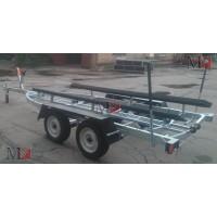 Прицеп для перевозки лодок до 5,3 м, двухосный